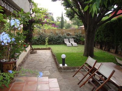 Photo for SAINT RAPHAEL GARDEN VILLA VERY NICE AND QUIET NEAR BEACHES AND CENTRE