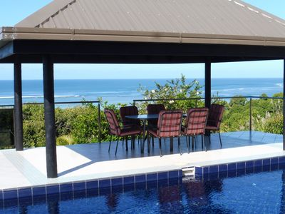 Photo for Fiji family holiday home with panoramic views of Maui Bay