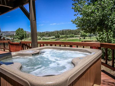 Photo for Alpine Ski & Tee Ultra Relaxing 3BR + Guest Apartment / Private Hot Tub / Air-Hockey