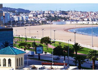 Photo for Very sunny and cosy appartement 2mn from the beach of Tangier.