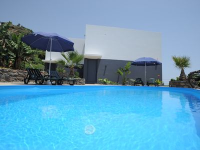 Photo for Luxury apartment, fantastic views, directly on the sea, pool, free Wi-Fi