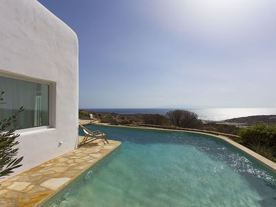 Photo for Panoramic Liama Villa, in Mykonos near Lia beach, with private pool, 5 bedrooms, 10 sleeps