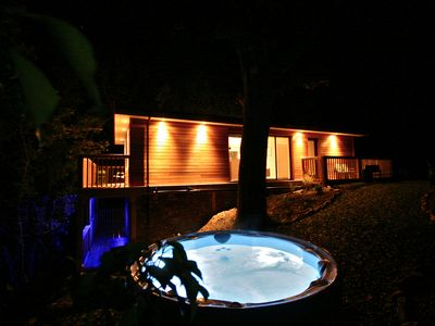 Photo for Sunridge TreeHouse is a Luxury S/Catering TreeHouse with HotTub & Fishing, Devon
