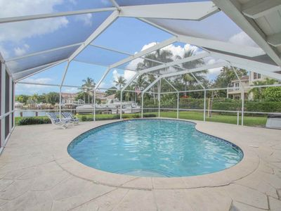 Photo for Waterfront Pool Home in the Moorings w/ Dock & Gulf Access. Fabulous Views & Fantastic Location!
