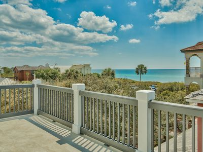 Photo for Seagrove 5 Bedroom Close to beach Amazing Gulf Views Private Pool South of 30A