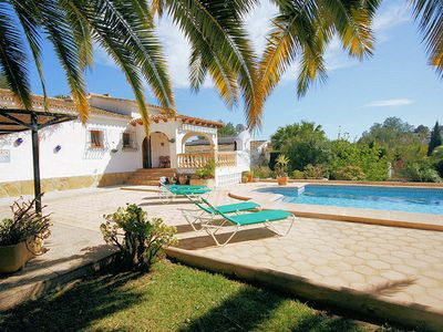 Photo for Casa Meito is a very attractive and comfortable villa, just a stroll from the Ifach golf course wher