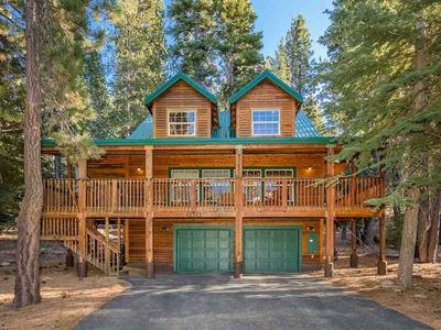 Photo for Cabin w/ a pool table, shared pool & spa, near skiing & hiking & dog-friendly!