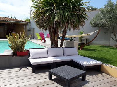 Photo for House with Pool Heated (7pers) near seaside in La Rochelle