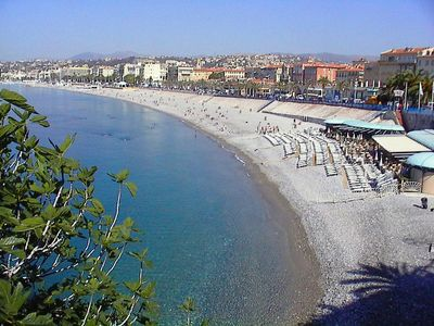 Photo for Nice Old town: stunning family holiday apartment 50 m from the sea