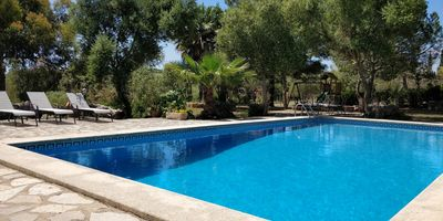 Photo for Finca Manacor with 4 bedrooms, garden with playground and pool