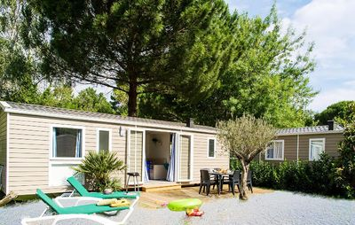 Photo for Camping Le Bois de Valmarie ***** - Mobile Home Sirène2 3 Rooms 6 people including 4 Adults maximum, baby included