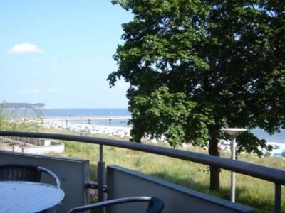 Photo for B 08: 35m², 1-room, 2 pers., Balcony, sea view, H - F-1090 Ostseeresidenz in the Baltic resort Göhren