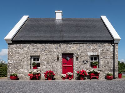 Photo for Murrays Traditional Irish Stone Cottage, near lake