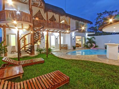 Photo for LUXURY 5 BR HOUSE MINUTES FROM TULUM BEACH