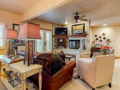 Photo for Amazing mountain home with free WiFi, shared pools & hot tub - next to ski lifts