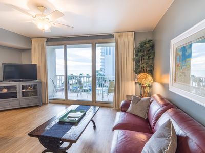 Photo for 4th floor view is waiting for YOU! No elevators-NO hassle!