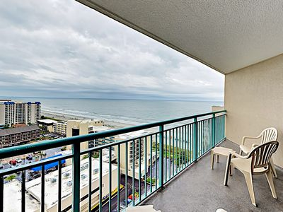 Photo for Spacious Ocean-View Condo at Sand Dunes Resort w/ Pool & Balcony