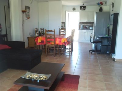 Photo for Designer apartment located in DRC NARBONNE-PLAGE (FRANCE) from 4 to 6 people