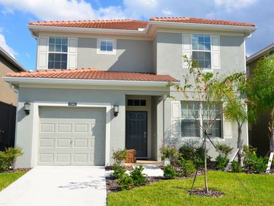 Photo for Budget Getaway - Paradise Palms Resort - Feature Packed Cozy 5 Beds 5 Baths  Pool Villa - 4 Miles To Disney
