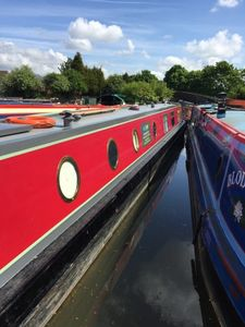Photo for 62ft,up to 8 berth narrow boat to rent