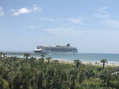 Photo for Port Canaveral Direct Oceanfront 2/2