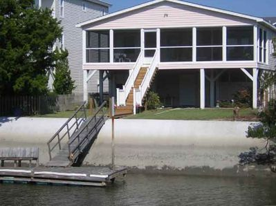 View of House from Waterway