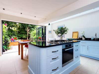 Photo for Magnificent home with garden close to Notting Hill & South Kensington (Veeve)