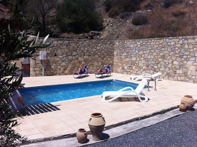 """Photo for Modern Villa with private pool and very quiet setting"""" away from it all""""sea view"""
