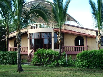 Photo for 5600 sq. ft. estate home on prestine quite beach, Junquillal, Costa Rica