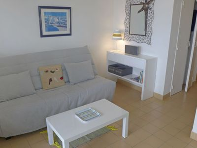 Photo for Apartment Les Trois Mâts in Canet-Plage - 3 persons, 1 bedrooms