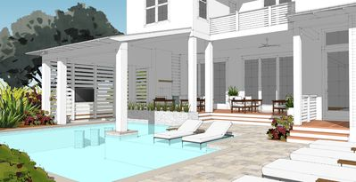 Photo for New Build - One Block to Gulf - Private Pool - Designer Home