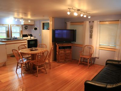Photo for Great Location! Walk to Beach/Pier in 5 minutes-Cottage Sleeps 6; 12 w/back uni