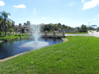 Photo for Our beautiful home with private pool on safe gated community