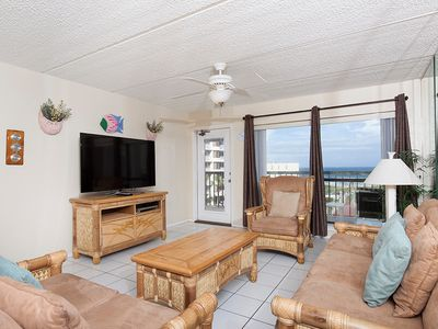 Photo for Saida III 605 - Relaxing Oceanfront Condo with Private Balcony