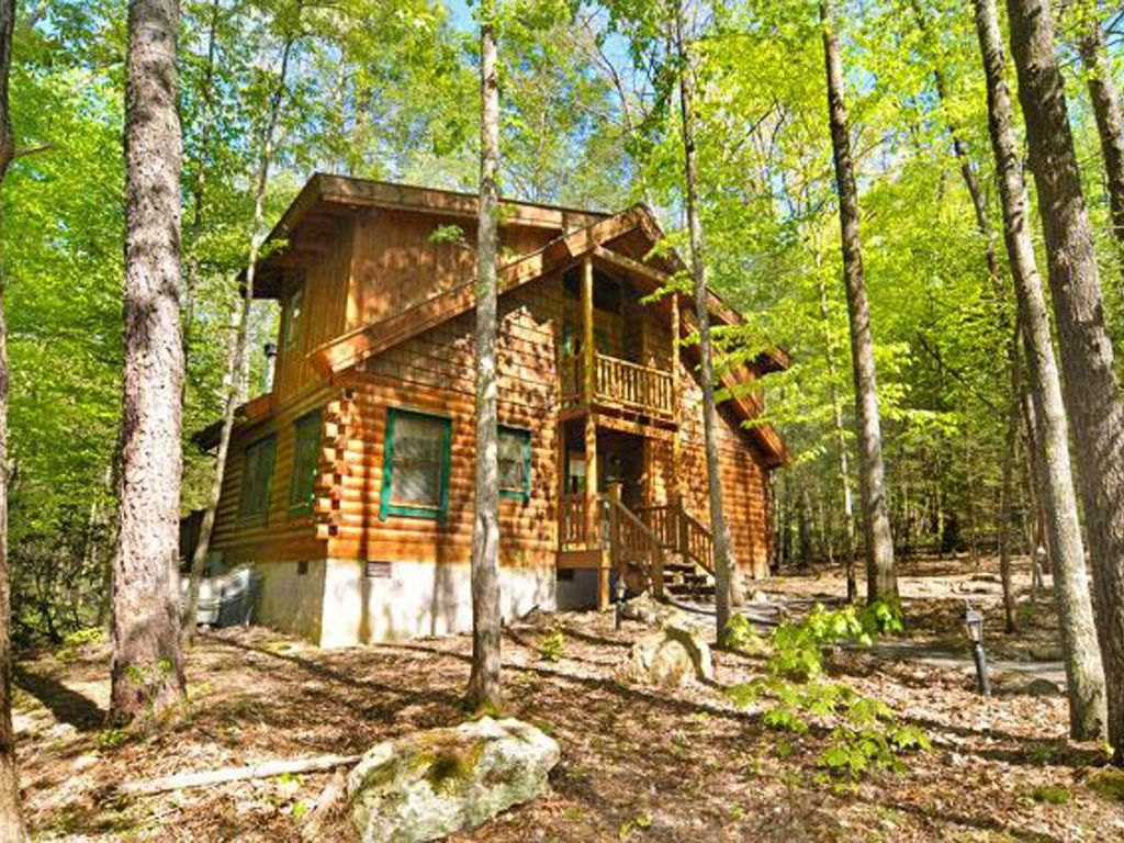 Pet friendly wooded cabin perfect for secluded family for Perfect cabin