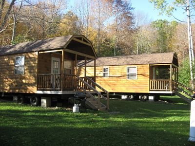 Photo for Dreams Park Cabin with full use of Beaver Valley amenities: pool, fishing, etc