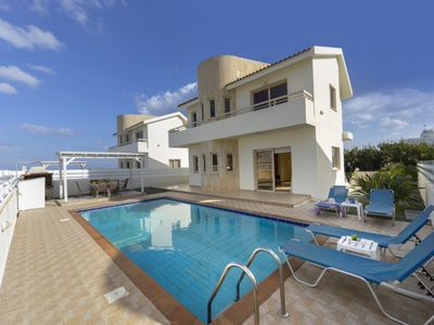 Photo for Picture Renting your 5 Star Villa Located in Paralimni with Beautiful Private Pool, Villa Paralimni 1019