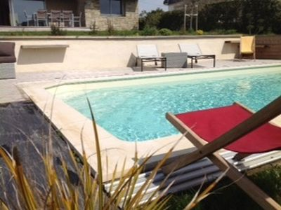 Photo for VILLA **** 10-12 PERS SECURE HEATED SWIMMING POOL BEACH 30 M