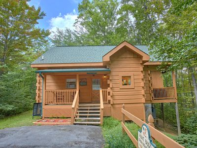 Photo for Private 1 bedroom Smoky Mountain Cabin located in Beautiful Wears Valley!