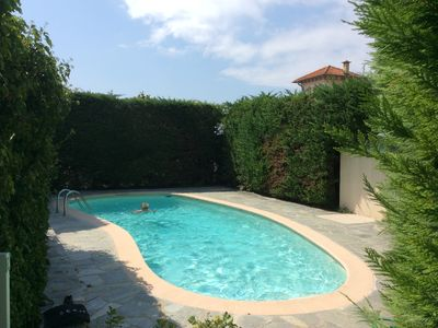 Photo for Studio magical view, swimming pool and private parking.