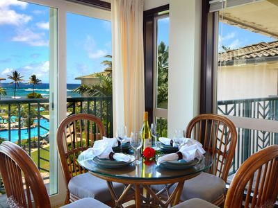 "Photo for PENTHOUSE Waipouli Beach Resort E404 - Beautiful Ocean & Pool View ""BEST OF THE BEST"" 1 Bdm - AC"