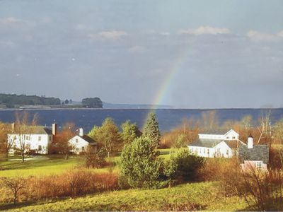 Photo for Pristine House On 7 Acres Overlooking Rockland Harbor -- Private Beach