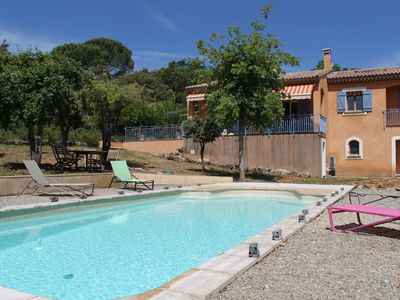 Photo for IN PROVENCE, HOUSE WITH LARGE SWIMMING POOL, IN PEACE