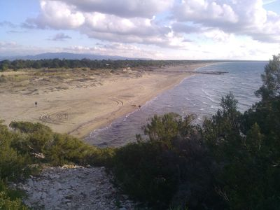 Kalogria beach and Strofilia forest