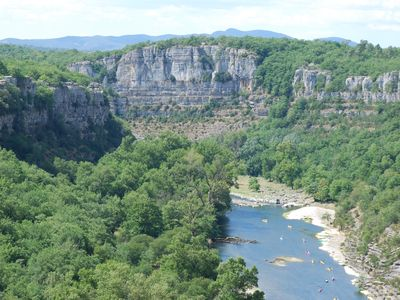 Photo for Detached house 100 m2 in the gorges of Ardeche, classified 4 stars