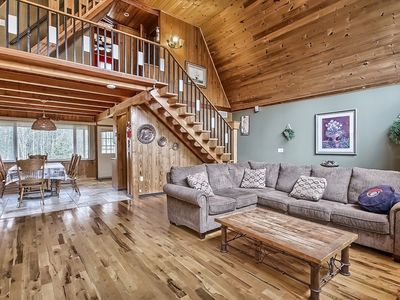 Photo for Waterfront Cozy 4 Bedroom Chalet