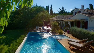 Photo for VILLA Aix en provence, the luxury of the countryside in the city