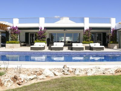 Photo for 5 bedroom Villa, sleeps 11 in Binibèquer Vell with Pool, Air Con and WiFi