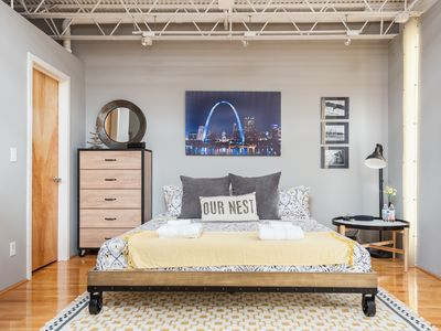Photo for NEW FALL RATES - OUR NEST in SOULARD - St Louis MO, a 1BR 1 BA loft, sleeps 4