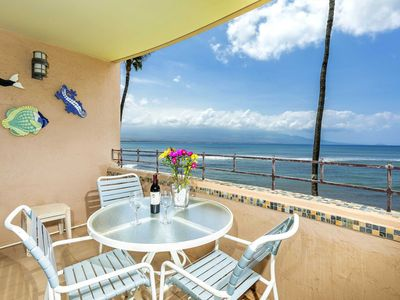 Photo for Island Sands Unit 206 is a direct oceanfront, ocean view home. Listen to the sounds the sea